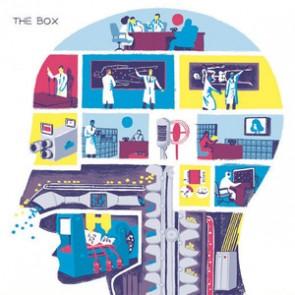 "THE BOX ""The Door b/w The Brain"" 7"""