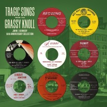 "VARIOUS ARTISTS ""Tragic Songs From The Grassy Knoll"" LP"
