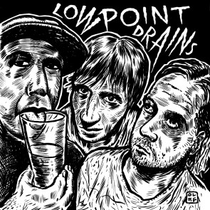 """LOW POINT DRAINS """"Out of Coke"""" EP"""