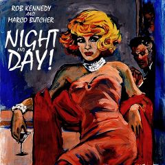 """JAM MESSENGERS """"Night And Day"""" LP"""
