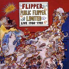 "FLIPPER ""Public Flipper Limited: Live 1980-1985"" (2xLP)"