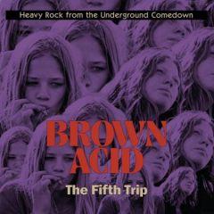 "VARIOUS ARTISTS ""Brown Acid: The Fifth Trip"" (Green Marble vinyl) LP"