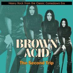 "VARIOUS ARTISTS ""Brown Acid: The Second Trip"" (YELLOW vinyl) LP"