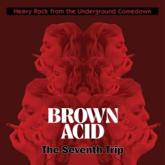 "VARIOUS ARTISTS ""Brown Acid: The Seventh Trip"" LP"