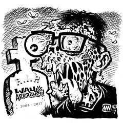 """WAU Y LOS ARRRGHS!!! """"El Mananero"""" EP (BLUE Vinyl)"""