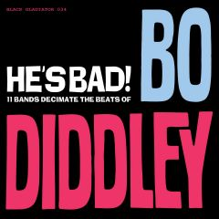 """VARIOUS ARTISTS """"HE'S BAD! 11 BANDS DECIMATE THE BEATS OF BO DIDDLEY"""" Limited edition box set (6x7"""")"""