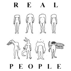 """REAL PEOPLE """"Life Without a Head"""" (Cassette)"""