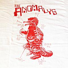 ANOMALYS T-SHIRT (Godzilla design, white)