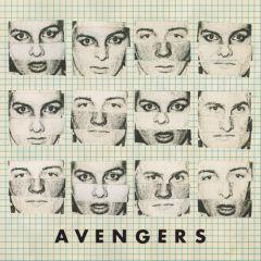 """AVENGERS """"American In Me"""" 7"""" (RED vinyl)"""