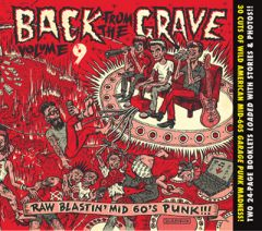 """VARIOUS ARTISTS """"Back From the Grave Vol. 9 & 10"""" CD  (Deluxe digipac)"""