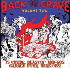 """VARIOUS ARTISTS """"Back From The Grave Vol. 2"""" LP (Gatefold)"""