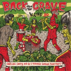 """VARIOUS ARTISTS """"Back From The Grave Volume 10"""" LP (Gatefold)"""