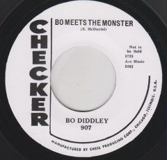 """DIDDLEY, BO """"Bo Meets The Monster / Willie And Lillie"""" 7"""""""