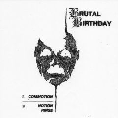"BRUTAL BIRTHDAY ""S/T"" 7"""