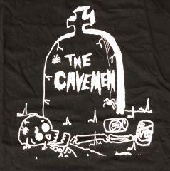 CAVEMEN T-SHIRT BLACK (Men's 3XL)