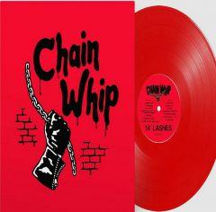 CHAIN WHIP - 14 Lashes RED vinyl LP