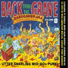 """VARIOUS ARTISTS """"Back from the Grave Vol. 8"""" CD"""