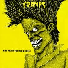 """CRAMPS """"Bad Music For Bad People"""" (YELLOW Vinyl) LP"""