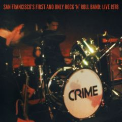 """CRIME """"San Francisco's First And Only Rock 'n' Roll Band: Live 1978"""" (2x7"""" + DVD) (BLUE vinyl)"""