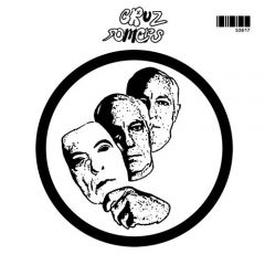 "CRUZ SOMERS ""Sit & Stare"" 7"" (Black & White cover)"