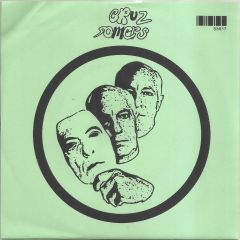 """CRUZ SOMERS """"Sit & Stare"""" 7"""" (Green cover)"""