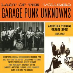 """VARIOUS ARTISTS """"The Last Of The Garage Punk Unknowns Volume 2"""" LP (Gatefold)"""
