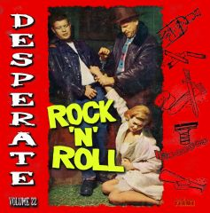 VARIOUS - Desperate Rock'N'Roll Vol. 22 LP