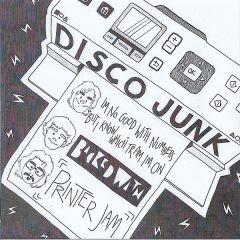 "DISCO JUNK / COLLECTIVE HARDCORE ""Split"" 7"""