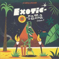 VARIOUS - Exotic-o-Rama vol. 3 LP+Cd