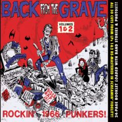 """VARIOUS ARTISTS """"Back from the Grave Vol. 1 & 2""""  CD"""