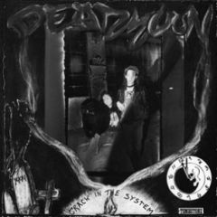 """DEAD MOON """"Crack In The System"""" LP"""