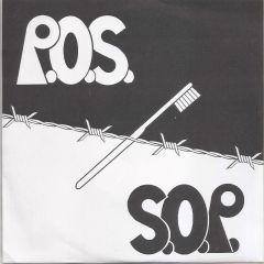 """P.O.S. """"S/T"""" 7"""""""