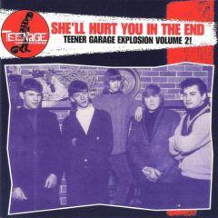 "VARIOUS ARTISTS ""Teenage Shutdown-Vol. 8 She'll Hurt You In The End"" CD"