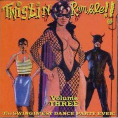 "VARIOUS ARTISTS ""Twistin' Rumble Vol. 3"" CD (Includes Volumes 5-6)"