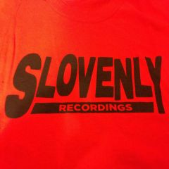 SLOVENLY RED BLOCK T-SHIRT