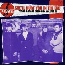 VARIOUS ARTISTS 'Teenage Shutdown-Vol. 8 She'll Hurt You In The End' LP