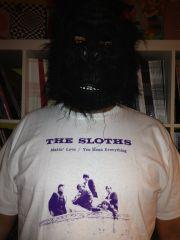 SLOTHS MAKIN' LOVE T-SHIRT (Medium)