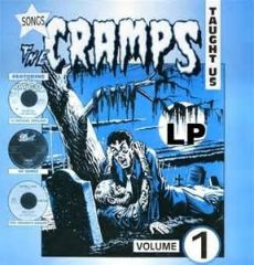 """SONGS THE CRAMPS TAUGHT US """"Vol. 1"""" LP"""