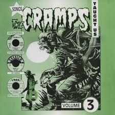 """SONGS THE CRAMPS TAUGHT US """"Vol. 3"""" LP"""