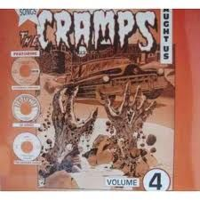 """SONGS THE CRAMPS TAUGHT US """"Vol. 4"""" LP"""