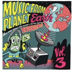 """VARIOUS ARTISTS """"Music From Planet Earth Vol. 3 - Moon Tunes, Signals From Saturn & The Full Martian Experience"""" 10"""""""