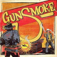 """VARIOUS ARTISTS """"Gunsmoke Vol. 1 - Dark Tales Of Western Noir From The Ghost Town Jukebox"""" 10"""""""