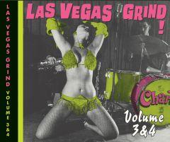 "VARIOUS ARTISTS ""LAS VEGAS GRIND Volume 3+4"" CD (Remastered)"