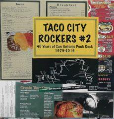VARIOUS - Taco City Rockers 2 40 Years of San Antonio Punk Rock 1979-2019 LP