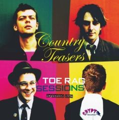 """COUNTRY TEASERS """"Toe Rag Sessions: Sept 1994"""" (Gatefold) LP"""