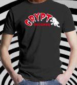 CRYPT T-SHIRT-BLACK (Medium)