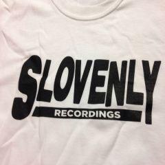 SLOVENLY WHITE BLOCK T-SHIRT