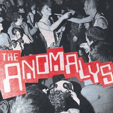 THE ANOMALYS self-titled CD