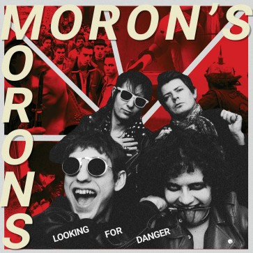 "MORON'S MORONS ""Looking for Danger"" LP (PINK vinyl)"