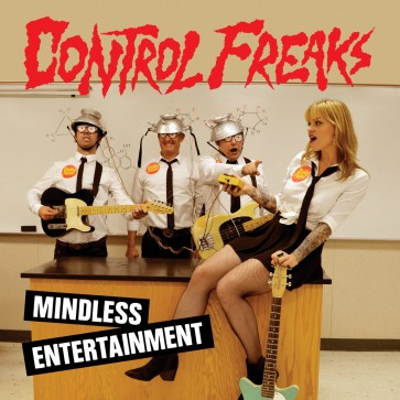 "CONTROL FREAKS ""Mindless Entertainment"" LP (Black Vinyl)"